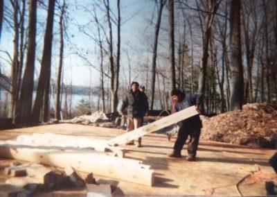 Building Zerons cabin 2004